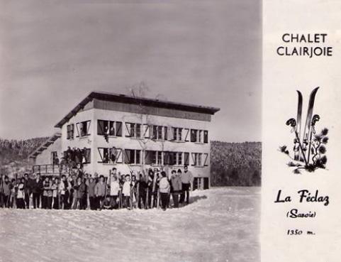 Chalet Le Clairjoie